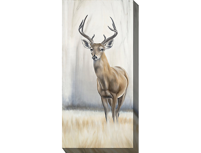 Lone Stag Outdoor Wall Art, , large