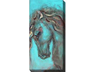 Blue Horse II Outdoor Art, , large