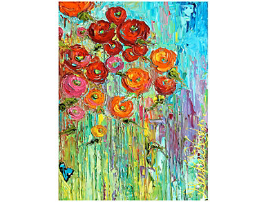 Poppies Outdoor Wall Art, , large