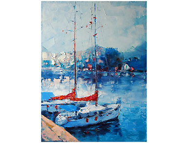 Yacht Club Outdoor Wall Art, , large