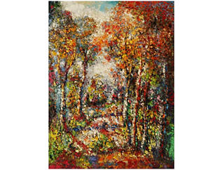 Forest Outdoor Wall Art, , large