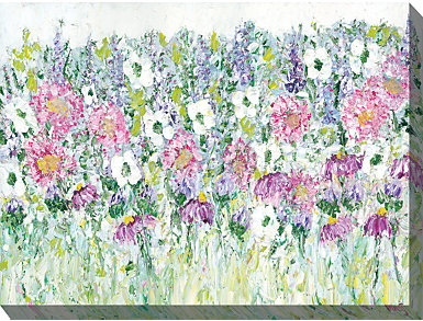 Field of Flowers Outdoor Art, , large