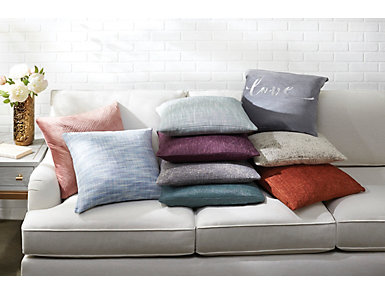 "Love Grey 20"" x 20"" Pillow, , large"