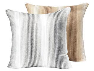 """Hillstone Silver Linen 20"""" x 20"""" Pillow, , large"""