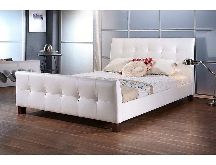 Amara White Full Bed, , large