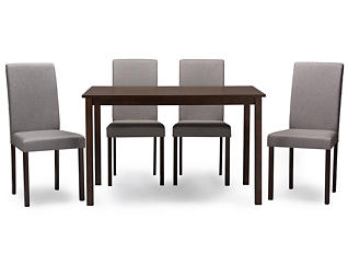 Andrew Grey 5PC Dining Set, , large