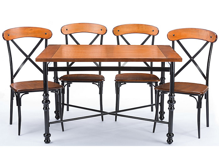 Ethan 5 Piece Dining Set, , large