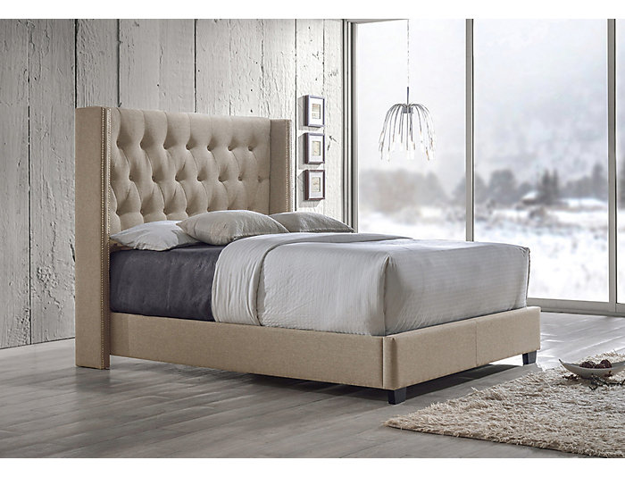 Katherine Brown Queen Bed, , large