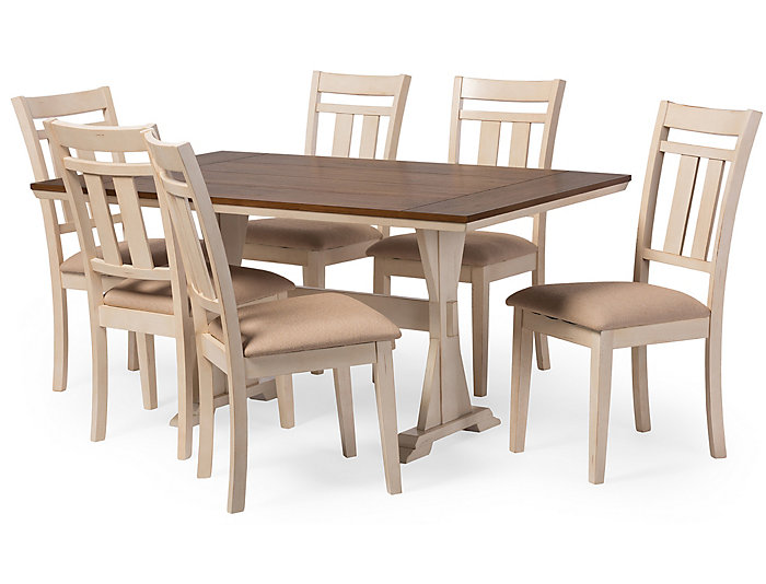 Roseberry 7-Piece Dining Set, , large