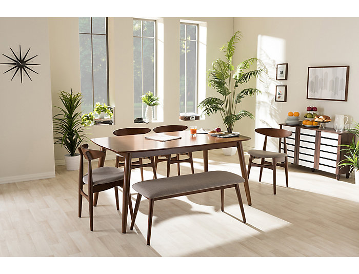 Flora 6-Piece Dining Set, , large