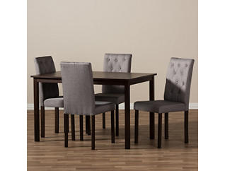 Gardner 5PC Grey Dining Set, , large