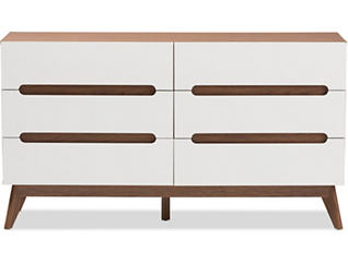 Calypso White Storage Dresser, , large