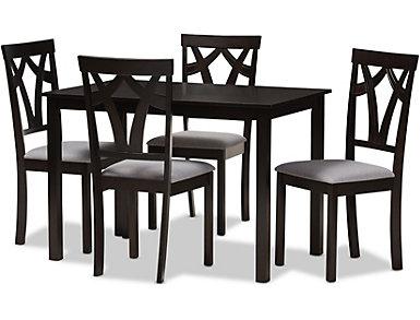 Harley 5 Piece Dining Room Set