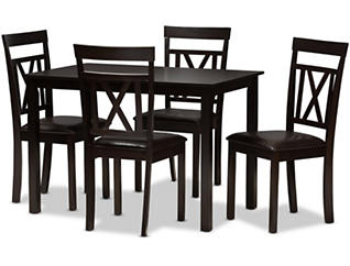 Sky 5 Piece Dining Table Set, , large