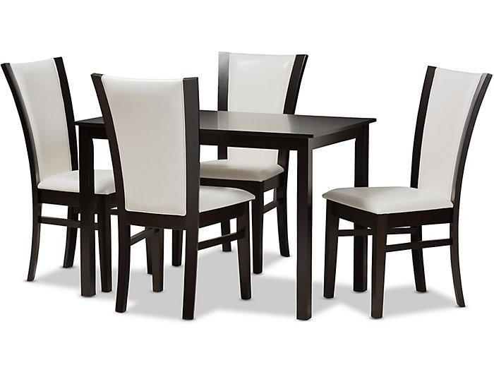Hayden 5 Piece Dining Room Set