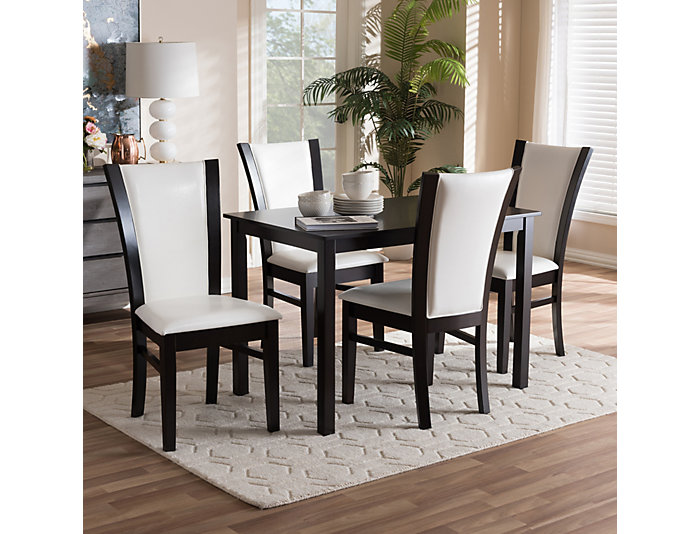 Marvelous Hayden 5 Piece Dining Room Set Ibusinesslaw Wood Chair Design Ideas Ibusinesslaworg