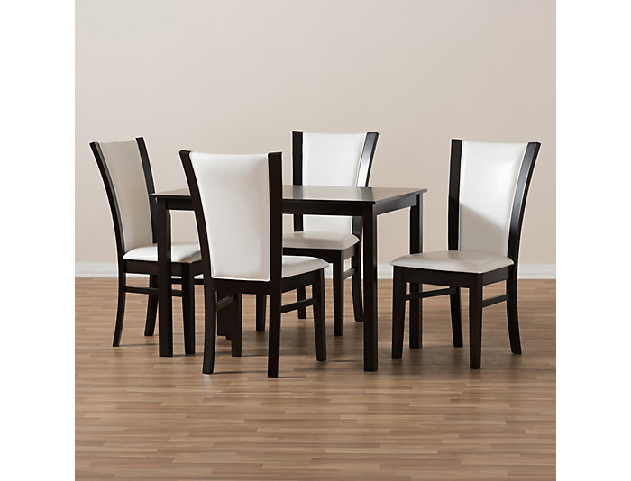 Sensational Hayden 5 Piece Dining Room Set Ibusinesslaw Wood Chair Design Ideas Ibusinesslaworg