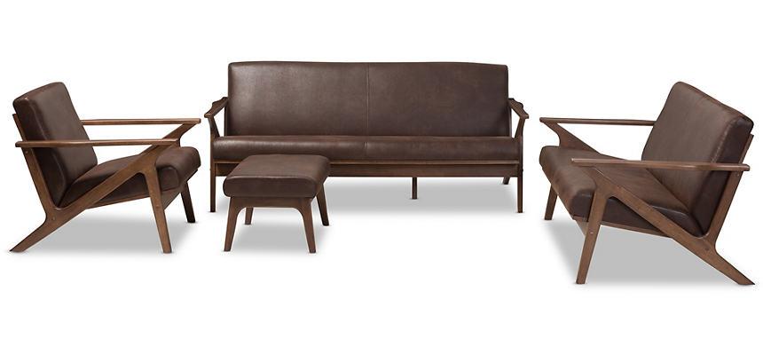 Decker 4 Piece Living Room Set