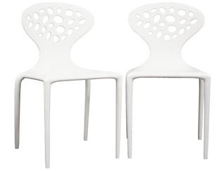 Durante White Chair (Set of 2), , large