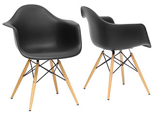 Pascal Black Chair (Set of 2), , large