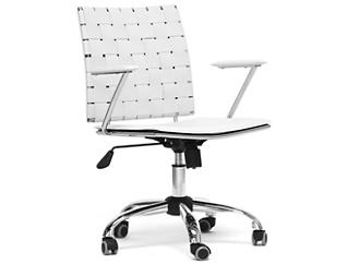 Vittoria White Office Chair, , large