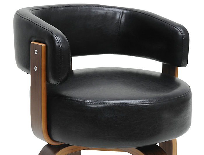 Sensational Fortson Black Accent Chair Ibusinesslaw Wood Chair Design Ideas Ibusinesslaworg