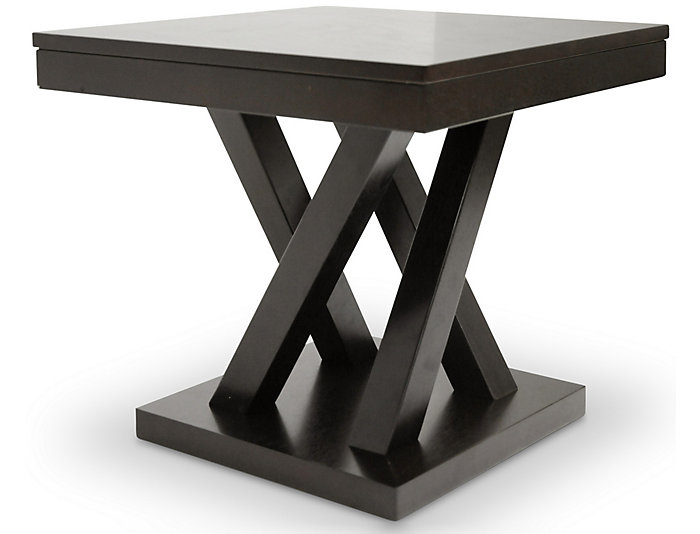 Silas Modern End Table, , large