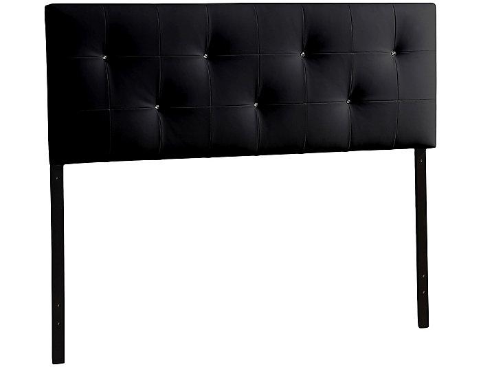 Dalini Queen Black Headboard, , large