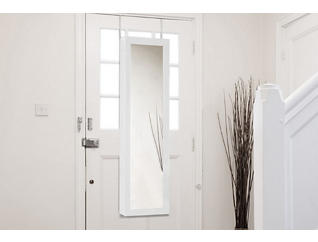 White Over-the-Door Armoire, , large