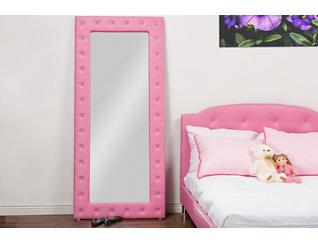 Stella Pink Floor Mirror, , large