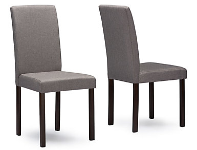 Andrew Grey Chair (Set of 2), , large