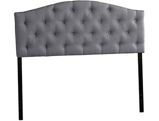 Myra Grey Queen Headboard, , large