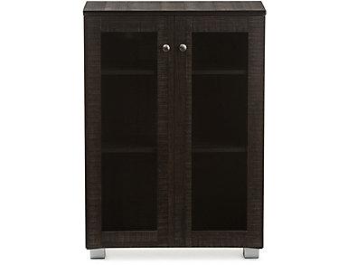 Walton Brown Storage Cabinet, , large