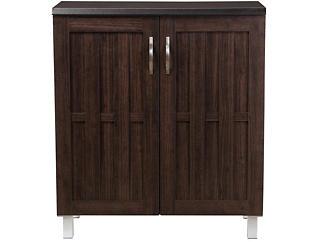 Melrose Dark Brown Storage Cabinet, , large