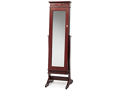 Bimini Brown Cheval Armoire, , large