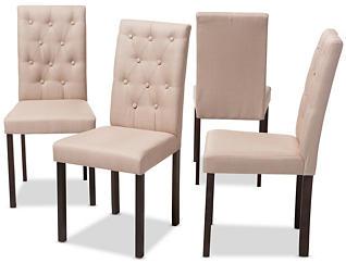 Gardner Beige Chair (Set of 4), , large