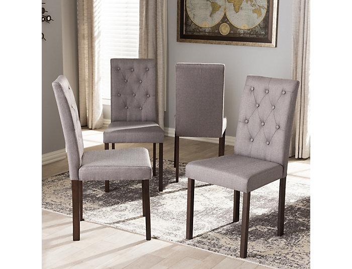 Gardner Grey Chair (Set of 4), , large