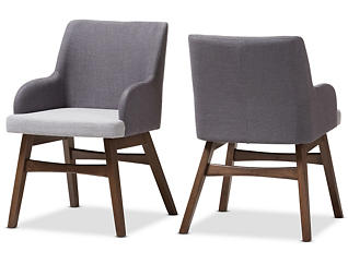 Monte Grey Armchair (Set of 2), , large