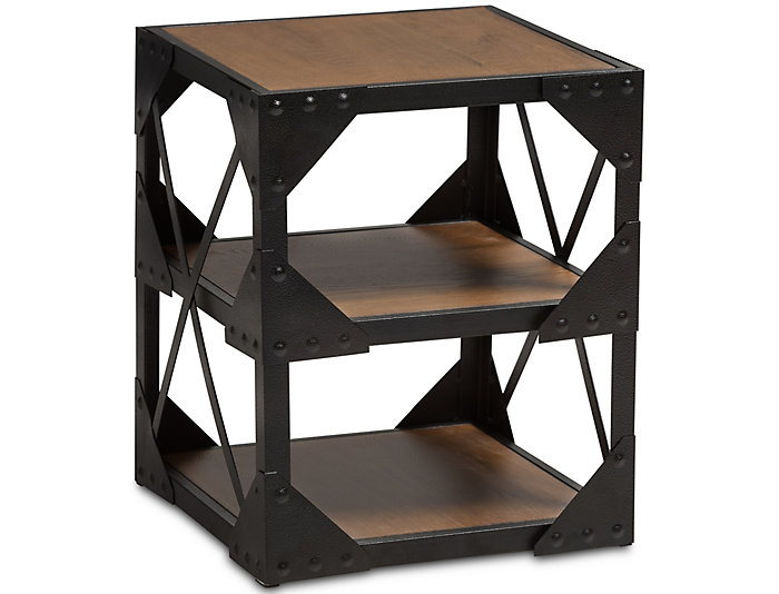 Merveilleux ... Edison Industrial Side Table, , Large ...