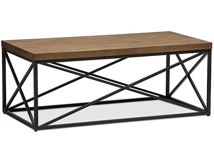 Eli Bronze Coffee Table, Brown, , large