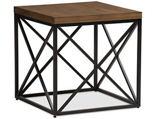 Eli Bronze End Table, Brown, , large