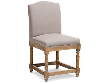 Paige Beige Side Chair, , large