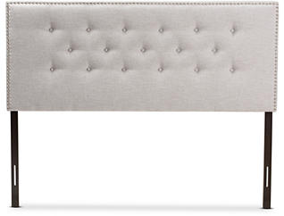 Windsor Beige Queen Headboard, , large