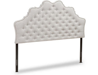 Hilda Beige Full Headboard, , large