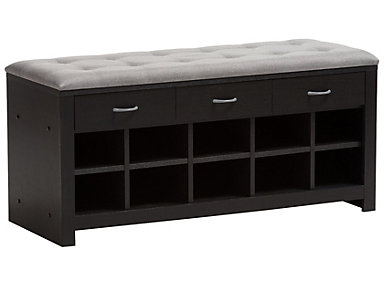 Wrigleyville Storage Bench, , large