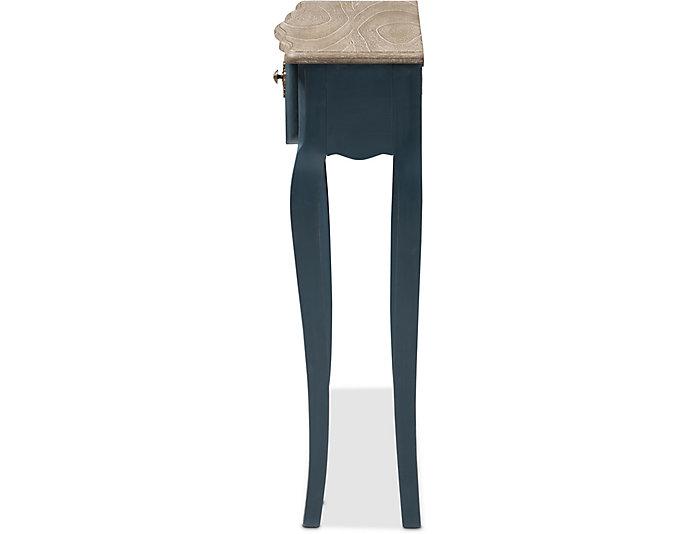 Beau Console Table, Blue, , large