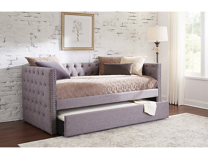 Awe Inspiring Cosmopolitan Daybed With Trundle Art Van Home Evergreenethics Interior Chair Design Evergreenethicsorg