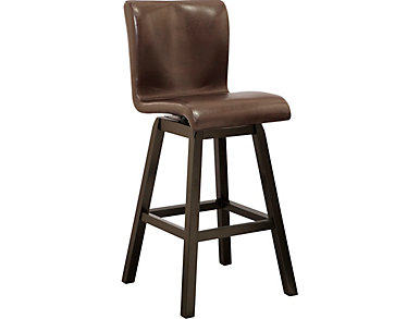 Noah Swivel Stool, , large