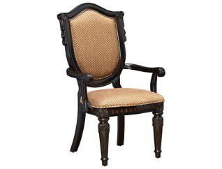 Montrachet Upholstered Arm Chair, , large