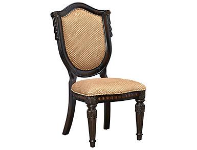 Montrachet Upholstered Side Chair, , large